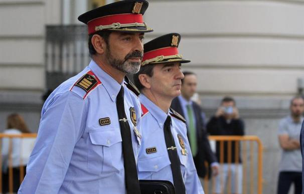Josep Lluis Trapero, a las puertas de la Audiencia Nacional