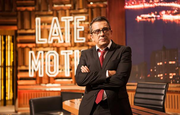 Buenafuente en 'Late Motiv' de Movistar Plus.