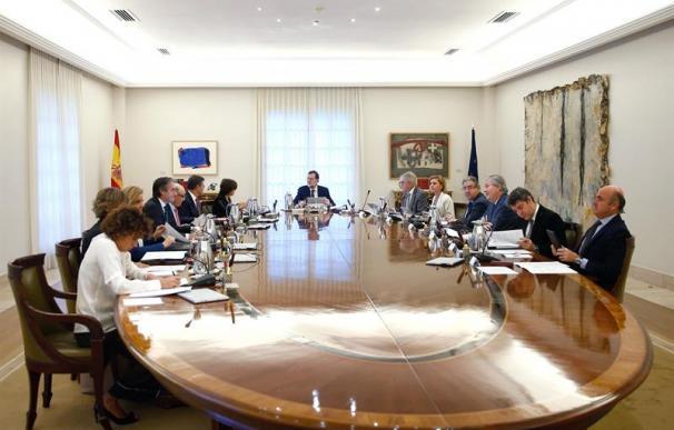 El Consejo de Ministros reunido