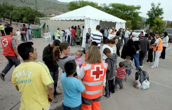 El Ayuntamiento de Lorca prepara el desmantelamiento del campamento de refugiados
