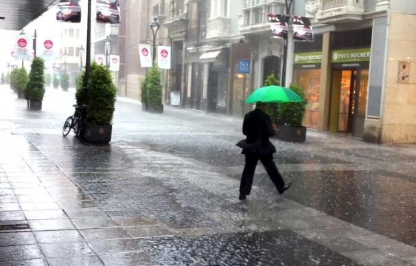 Valladolid recupera la normalidad tras la granizada aunque 5.000 hogares están sin luz