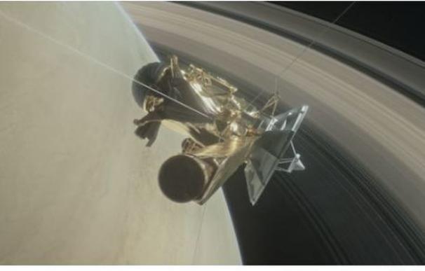 La sonda Cassini se desintegra en Saturno después de 20 años de misión