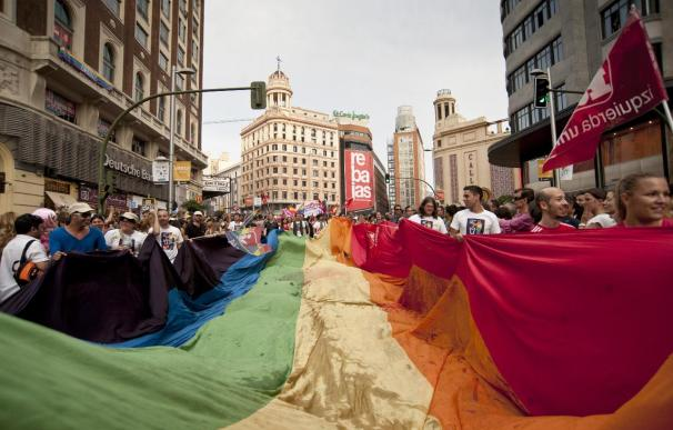"""¿Se ha convertido la celebración del Orgullo Gay en un """"circo mediático""""? Dos asociaciones de homosexuales discrepan sobre la cuestión."""