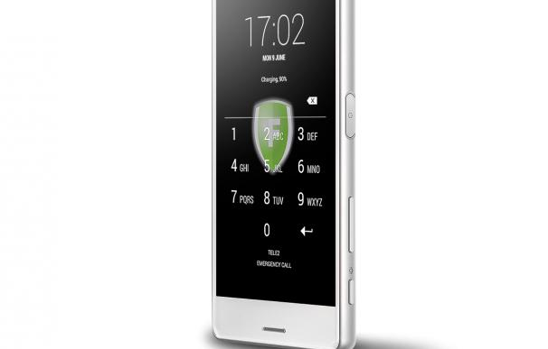 El teléfono desarrollado por el CNI para comunicaciones seguras.