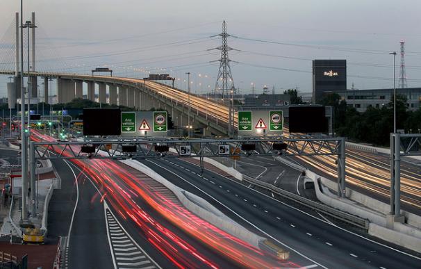 Autopista de Dartford Crossing, gestionada por Abertis.