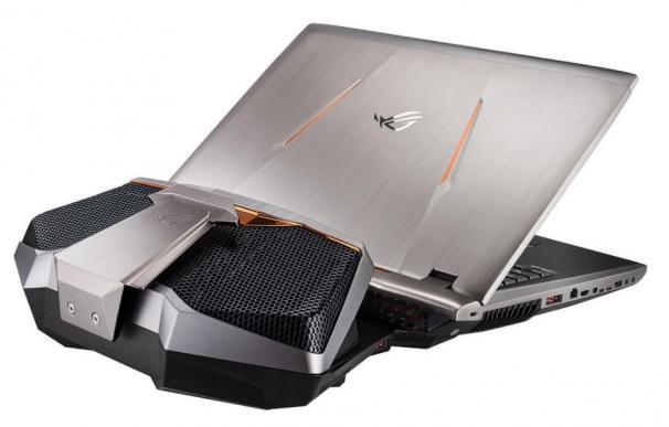 ASUS RoG GX800, un portátil con refrigeración liquida externa