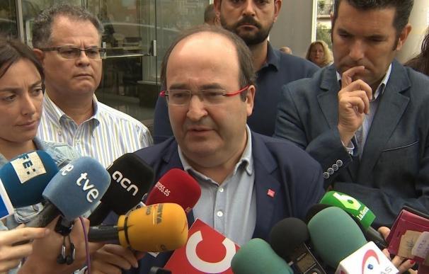 """Iceta ve """"incomprensible"""" la querella de la Fiscalía contra organizadores de movilizaciones: """"es libertad de expresión"""""""