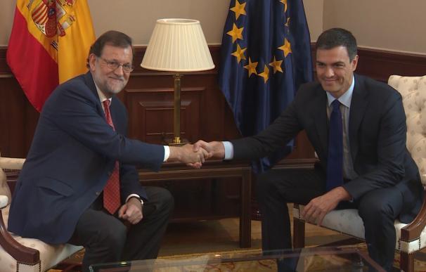 Rajoy confirma el acuerdo con PSOE sobre el 155