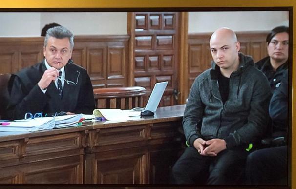 Fotografía de Sergio Morate durante el juicio