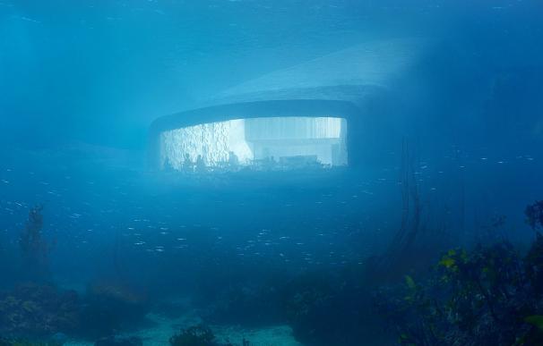 Fotografía de 'Under', el primer restaurante bajo el agua de Europa.