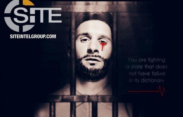 ISIS amenaza el Mundial de Rusia con una imagen de Messi encarcelado y ensangrentado