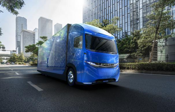 El modelo E-FUSO Vision One de Daimler