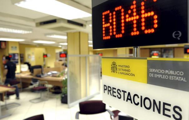Una oficina de los Servicios de Empleo en Valladolid. | Efe
