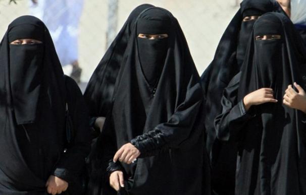 Fotografía de mujeres en Arabia Saudí.
