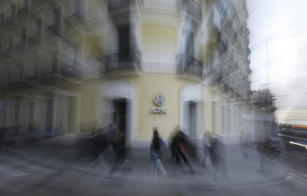 Sede del banco chino ICBC en Madrid. EFE JUAN CARLOS HIDALGO