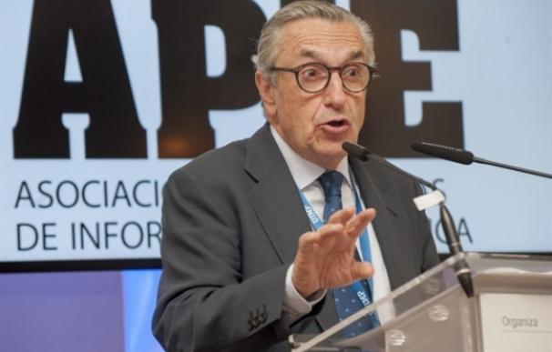 José María Marín, presidente de la CNMC, en un acto.