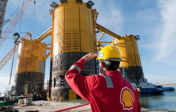 Complejo industrial de Shell.