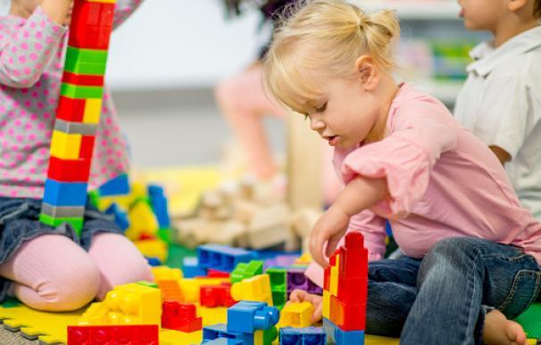 Lego consigue 'enganchar' a los niños desde las edades más tempranas.