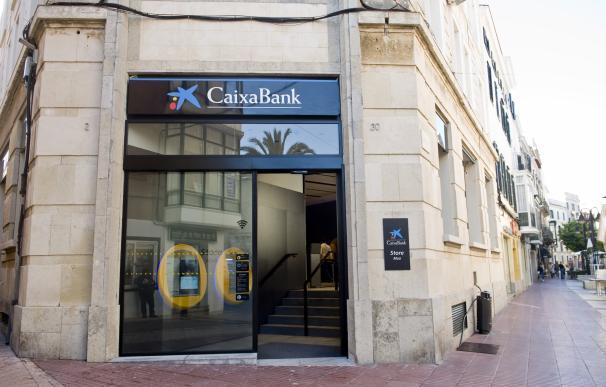 Imagen de una oficina de CaixaBank