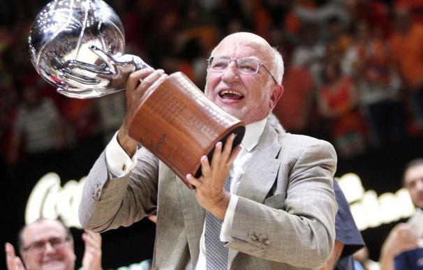 Imagen del presidente de Mercadona y principal accionista del Valencia Basket, Juan Roig.