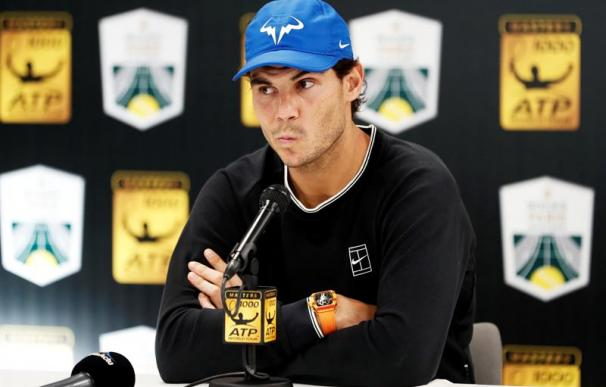 Rafa Nadal anuncia su retirada del Masters de París.
