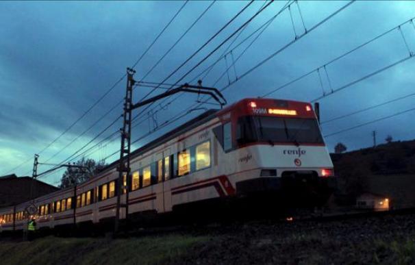 Vista de un tren de Cercanías de Renfe. EFE