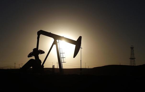 Pozo de extracción de petróleo.