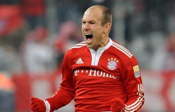 Robben, futbolista del Bayern de Múnich.