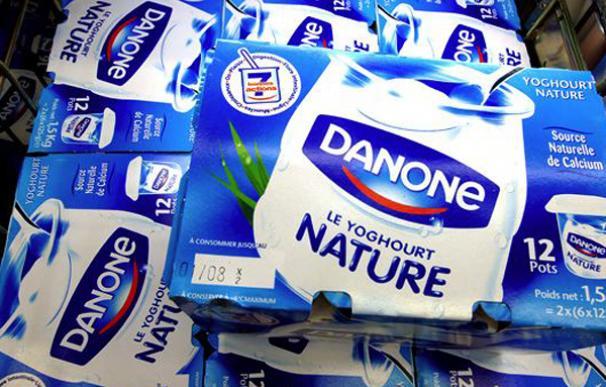 Imagen de yogures Danone.