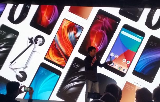 Wang Xiang durante la presentación de Xiaomi