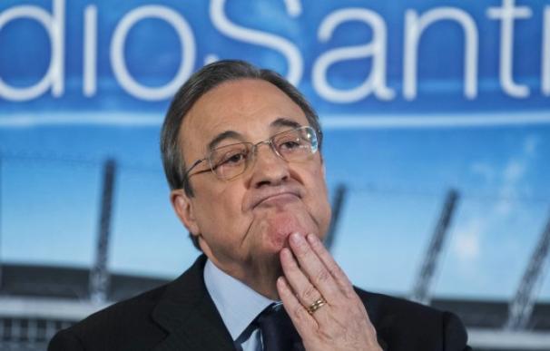 Imagen del presidente de ACS y del Real Madrid, Florentino Pérez.