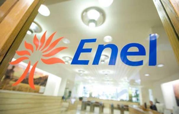 Imagen del logotipo de Enel