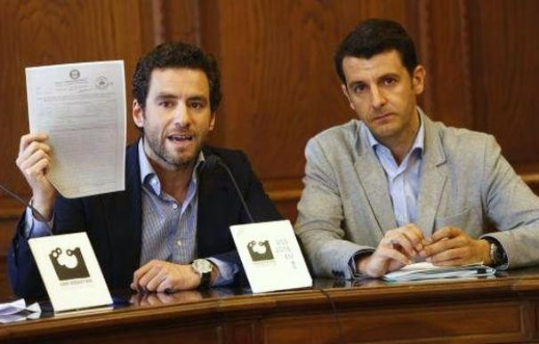 Borja Semper y Ramón Gómez Ugalde.