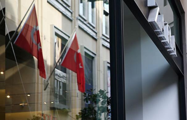 Fotografía de una tienda Zara en Estambul.
