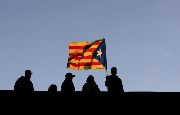Manifestación en Cataluña en favor de los Jordis