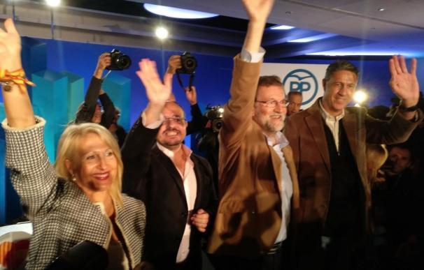 Rajoy apoya a Albiol en Cataluña