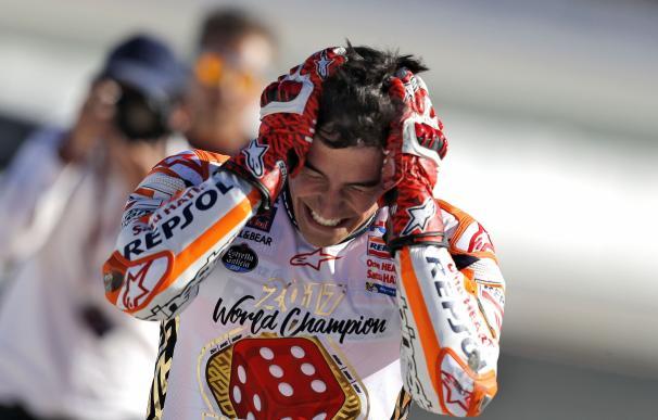 Márquez perdió hasta pelo esta temporada de la victoria