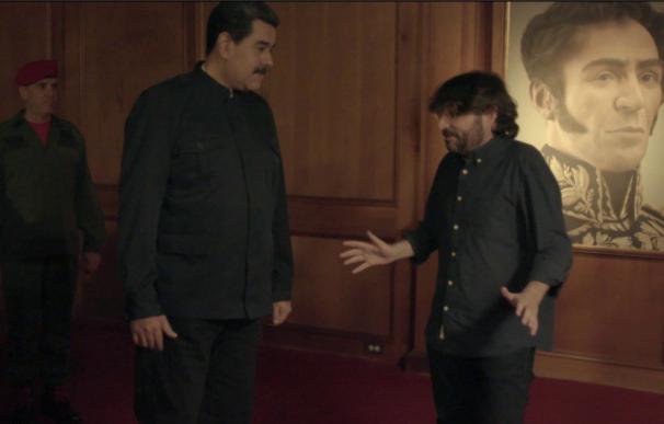 Nicolás Maduro charla con Jordi Évole