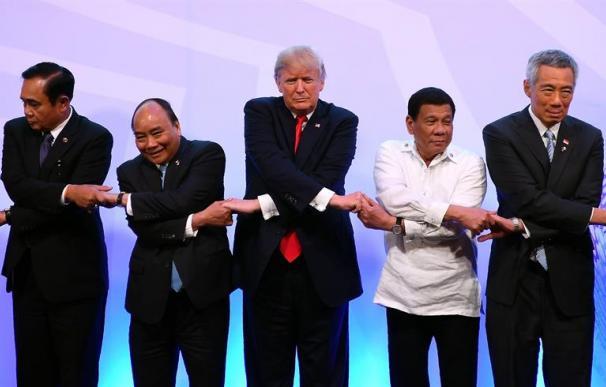 """Trump aboga """"por la paz"""" en la región indo-pacífica."""