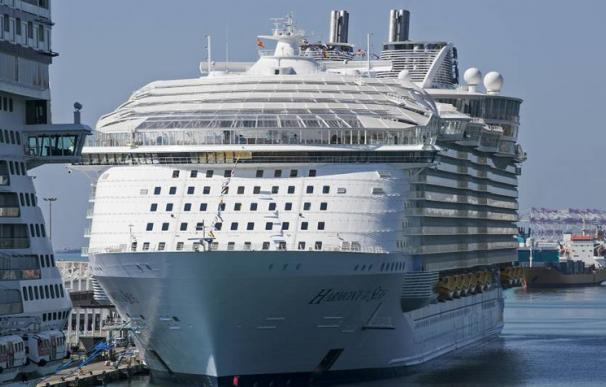 El tráfico de cruceristas cae en el Puerto de Barcelona.