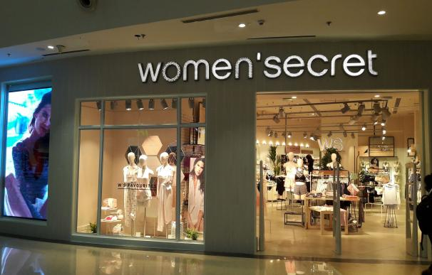 Imagen de una tienda Women'Secret, perteneciente a Cortefiel.
