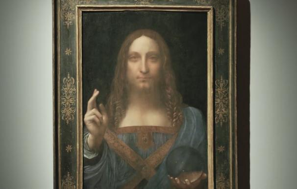 Cuadro de 'Salvator Mundi' de da Vinci