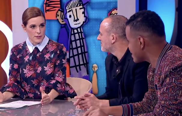 Raquel Sánchez Silva, presentando Likes de Movistar Plus