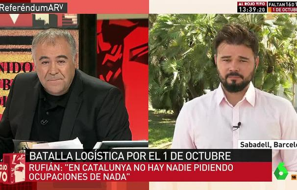 Especial de 'Al Rojo Vivo' sobre el referéndum en Cataluña.