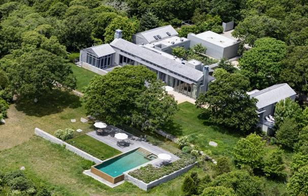 Fotografía de la casa de los Obama en sus vacaciones.