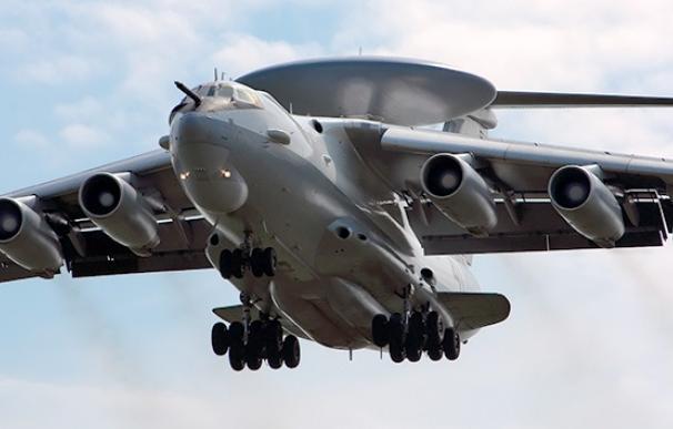 """El nuevo avión ruso A-100, el """"radar volante"""", realiza su primer vuelo"""