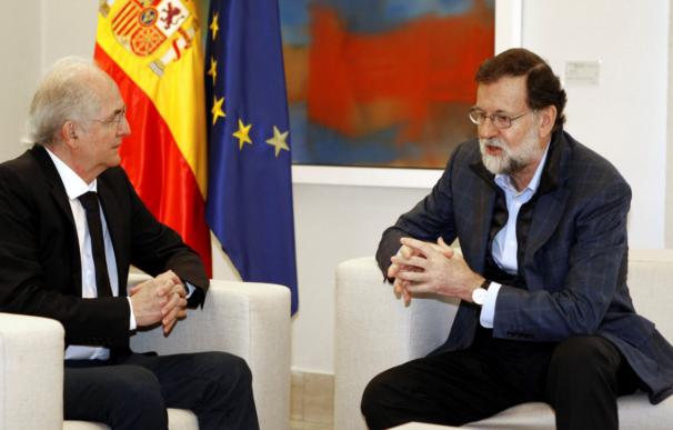 Ledezma se reúne con Rajoy