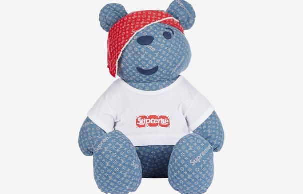 Oso de Louis Vuitton y Supreme
