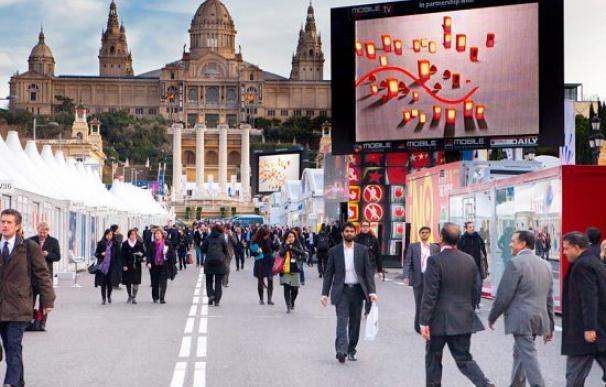 Fotografía de una cumbre empresarial realizada en Barcelona.