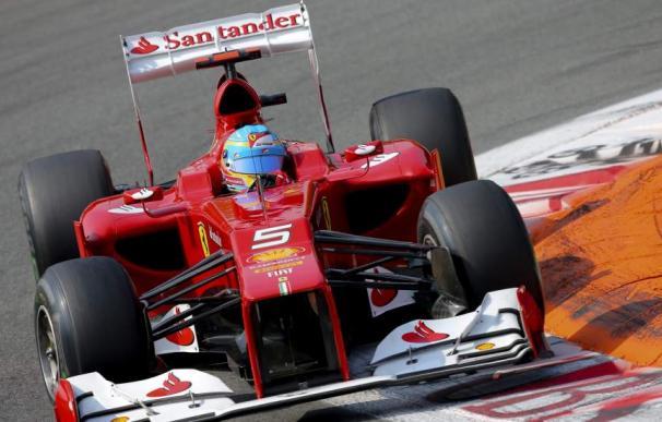 Ferrari y Santander.